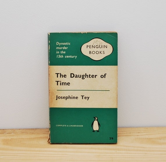 Vintage Penguin Book Cover Postcards ~ Vintage penguin book the daughter of time by josephine tey