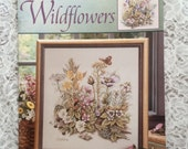 CCS - LEISURE ARTS #3545 - Wildflower Counted Cross Stitch Pattern Chart