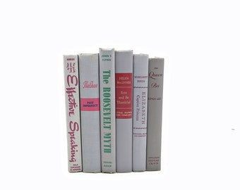 GRAY BOoks, Decorative Books, Book Set, Wedding Centerpiece, Old Book Stack, Grey Book Decor, Book Collection, Light Gray Instant Library