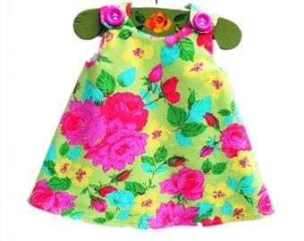 Baby Infant Dress - Jennifer Paganelli Design - Peasant Dress - Girls Dress - Baby Shower - Nursery - Girls Fashion - KK Children Designs