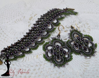 spiral bead necklace instructions