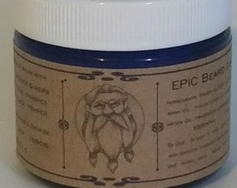 EPIC Beard-Choose your Scent-conditioning beard balm-1.8 oz size. Great gift for Dad.