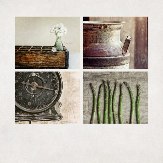 Modern Rustic Wall Decor : Country kitchen photography rustic wall art modern farmhouse