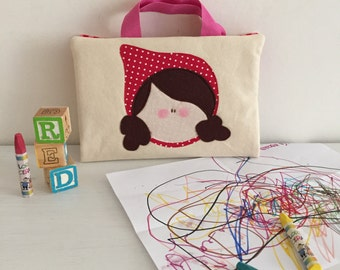 Crayon Art Folio - Little Red Riding Hood