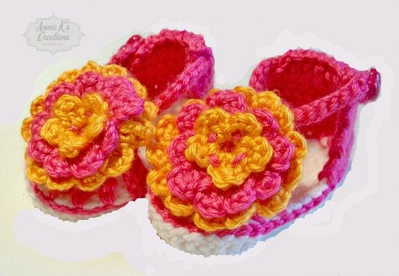 Summer Flower Sandals - Baby & Children's Summer Sandals, Flower Shoes