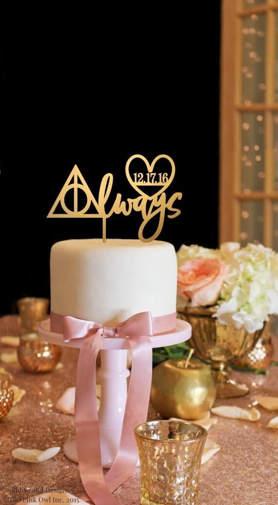 Harry Potter Wedding Cake Topper Always Wedding Cake Topper