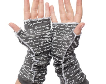 Sense and Sensibility Writing Gloves