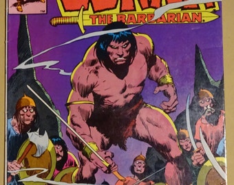 1981 Marvel Comics - Conan the Barbarian - Volume 1, #124 in Near Mint Condition - July 1981