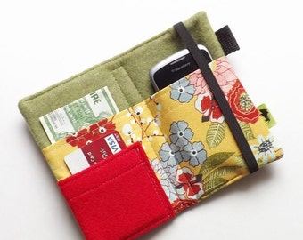 iPhone 7 wallet, iphone clutch, iPhone 6 wallet, smartphone wallet, cell wallet, samsung wallet Japanese wallet, pretty wallet, womans gift