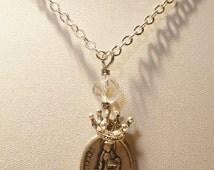"St. Dymphna""Wear A Prayer""Necklace~"