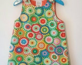 Retro Style Dress with hairband, limited edition