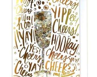 Celebration Confetti Card