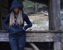 Lost Sew'L Organics Bamboo Fleece Zip Up Hoodie