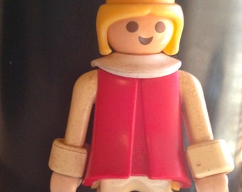 Sale Vintage 1970s Playmobil Doll- 1974- Geobra Playmobil Figure- Collectible Toy