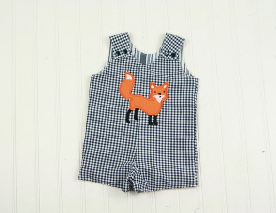 Baby Boy Fox Outfit Summer Baby Clothes Fox By Sodacitysewing