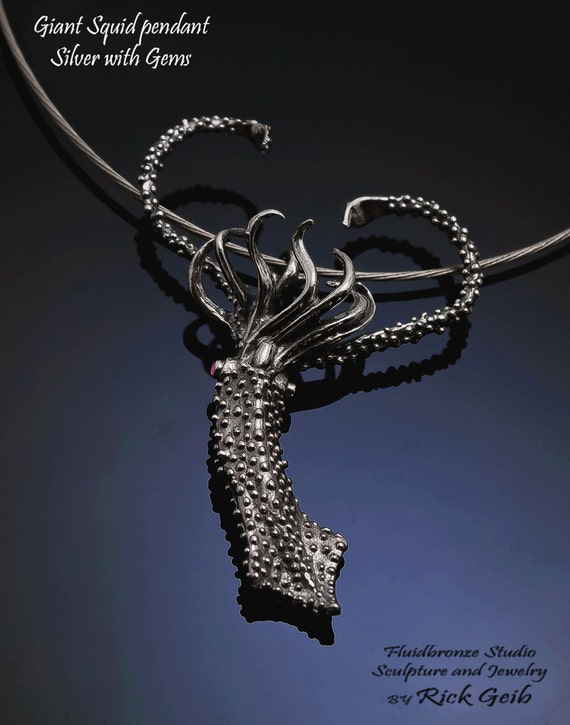Giant Squid Pendant