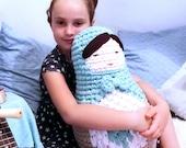 Amigurumi pattern, crochet patterns, gifts for crocheters. Nesting dolls crochet toy, matryoshka doll crochet pattern. babushka doll.