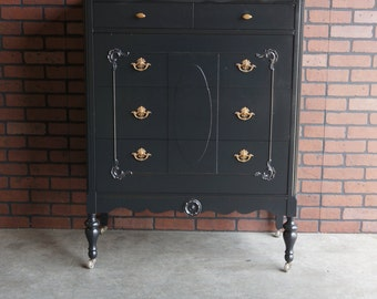 Chest of Drawers / Tall Chest / Highboy Dresser / Antique Chest ~ Paint To Order