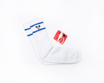 Vintage 80's Mickey Mouse Tube Socks