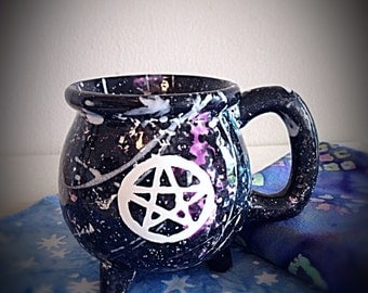 Witch's Cauldron Mug for Your Favorite Brew