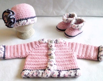 Crochet Layette Etsy