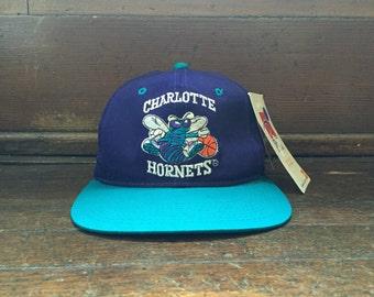 vintage charlotte hornets sports specialties snapback adult OSFA