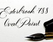 Vintage Esterbrook 788 Oval Point Dip Pen Nib