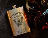 Polyjuice Potion - Magic spells - Harry Potter Inspired - 8oz Hip Flask