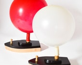 Balloon-Powered Wooden Toy Boats: Racing Set of 2
