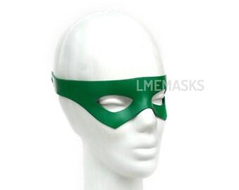 Green Leather Mask Arrow Robin Nightwing Rockabilly Boy Wonder Super Hero Halloween Masquerade Carnival Superheroe Cosplay Comic
