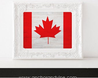 DIGITAL DOWNLOAD // Canada Flag