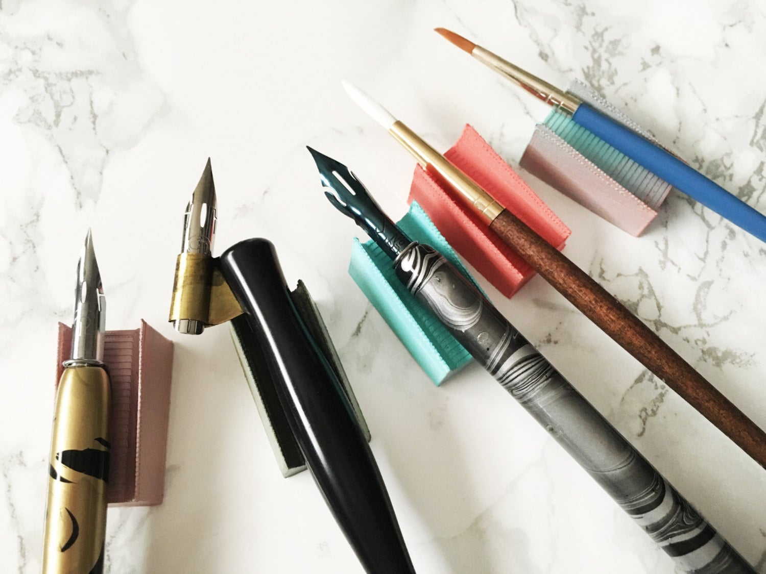 Pen Rest Calligraphy Pen And Paint Brush Rest Perfect