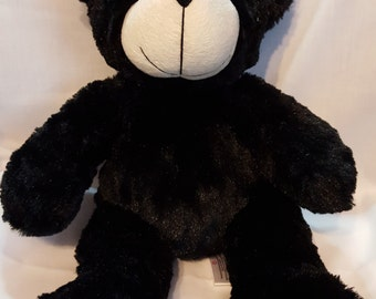 Personalized Children's Music Plush Black or Brown Bear - Friendly Songs Collection