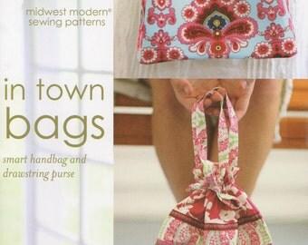 In Town Bags - Smart Handbag & Drawstring Purse Pattern by Amy Butler (AB003IB)