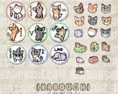 Gamer Kittens イカボウシ Digital File