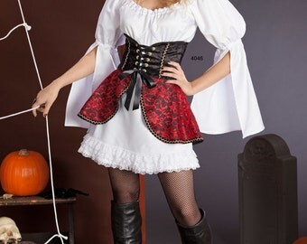 Simplicity 4046 Misses' Pin Up Costumes for Bo Peep, Witch, Fairy and More Sewing Pattern