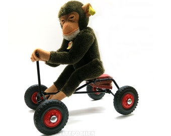 Steiff Monkey Record Peter | mobile | 1960s Rarely Vintage