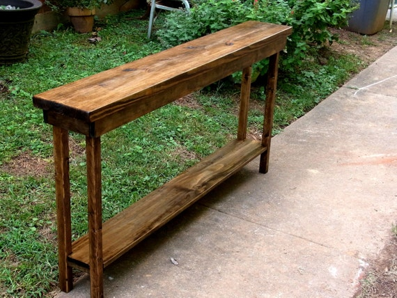 60 rustic console table extra narrow sofa table entryway for 60 wide console table