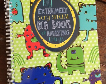 My Extremely Very Special Monster Activity Book