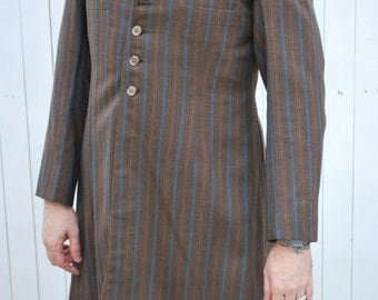 Edwardian/ Mod Style Frock Coat, Teddy Boy Style