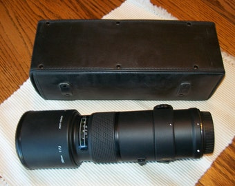 Camera lens 500mm-1:7.2  by Sigma-APO  Multi Coated