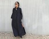 Kaftan Dress, Wedding dress, Plus Size Clothing, Caftan Dress, Plus Size Dress, Black Maxi Dress, Futuristic Clothing, Black Dress
