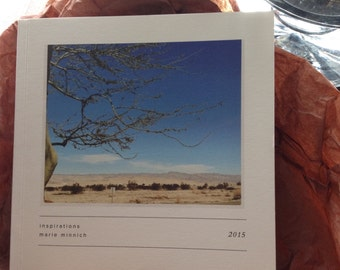 Inspirations  (fine art photography soft cover book 40 pg. 5.5 x5.5) Images + Words
