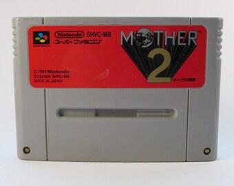 Mother 2 / Earthbound for Super Famicom / Super Nintendo in Japanese