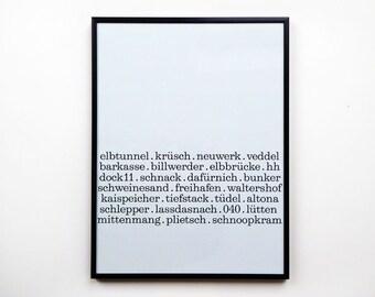 Errata de impresión A3 Hamburgo Sr. Fox poster