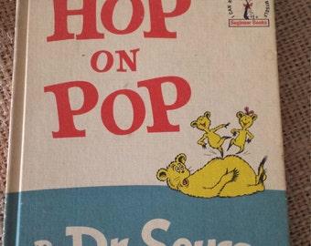 Hop on Pop Vintage Dr Seuss Hardcover book