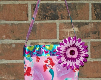 Little Girls Little Mermaid Purse