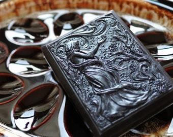 Art Deco Winter Soap - The Four Seasons - Art Nouveau Soap