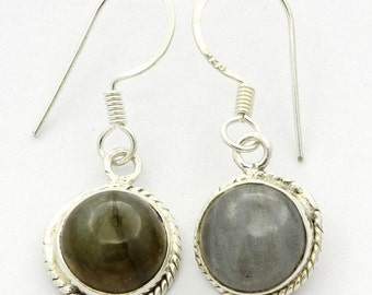 Adorable! New Labradorite 925 Sterling Silver Earrings Fashion Jewelry A2368