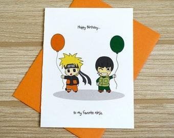 Favorite Ninja Birthday Card